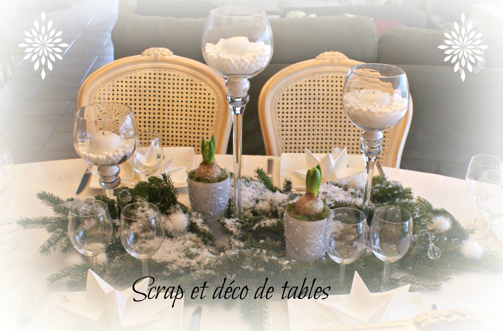 #956536 DECO TABLE DE NOËL EN BLANC Scrap Et Déco De Tables 7174 Deco De Table Noel Or Et Blanc 1917x1261 px @ aertt.com