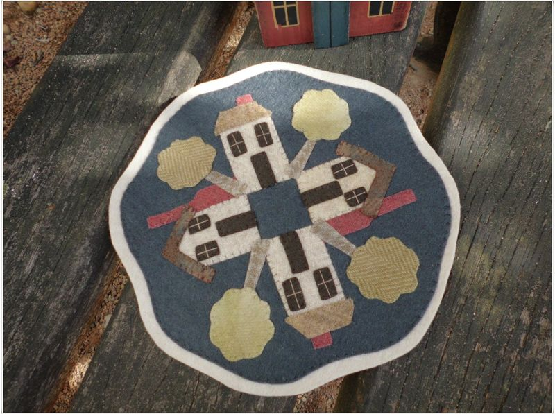 House candle mat 1
