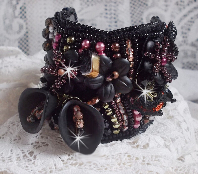 Bracelet Midnight Daisy 6-1