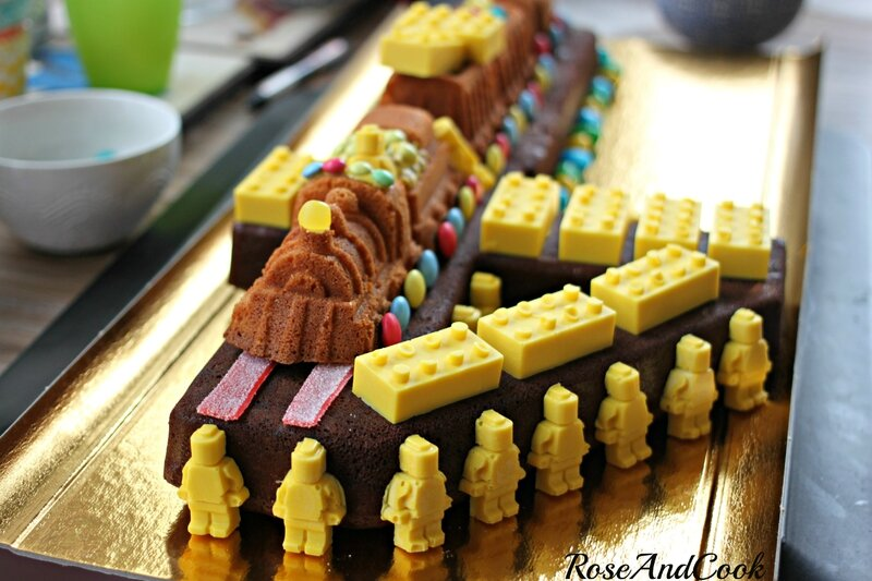 anniversaire lego / train {sweetable lego: photos, matériels