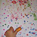 La peinture au tampon à doigt