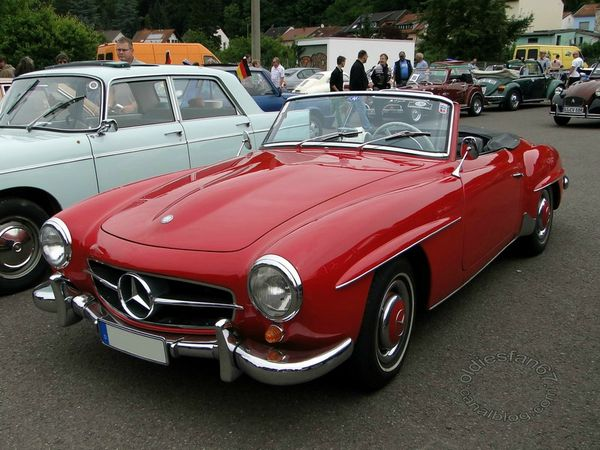 mercedes benz 190 sl 1954 1963 3
