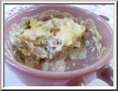 0244 - gratin de ravioles et artichauts