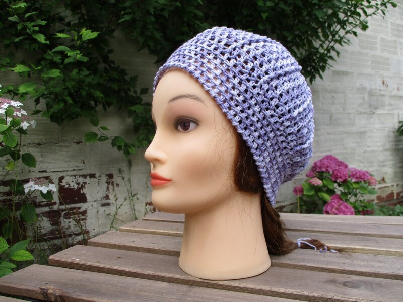 Bonnet simple en fil coton (11)
