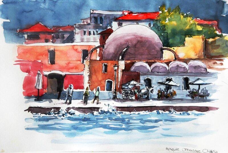 la mosquée ottomane 2 - Chania