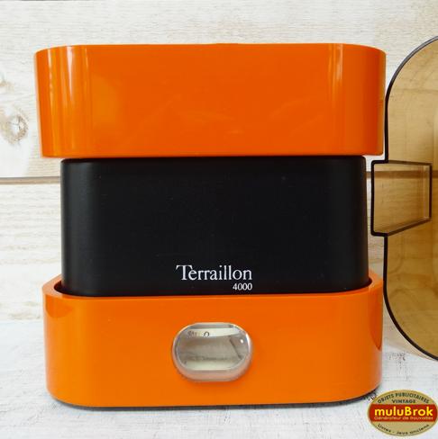 objet vintage balance orange terraillon 4000 mulubrok brocante en ligne. Black Bedroom Furniture Sets. Home Design Ideas
