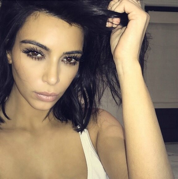 Kim-Kardashian-Slept-In-Makeup