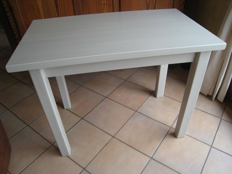 Peindre une table basse en verre - Customiser table basse en bois ...