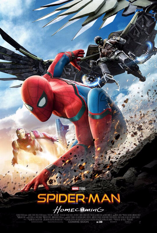 Spider-Man Homecoming-Affiche