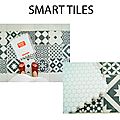 Ma crédence avec the smart tiles