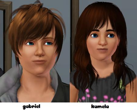 Gabriel et Kamela =D