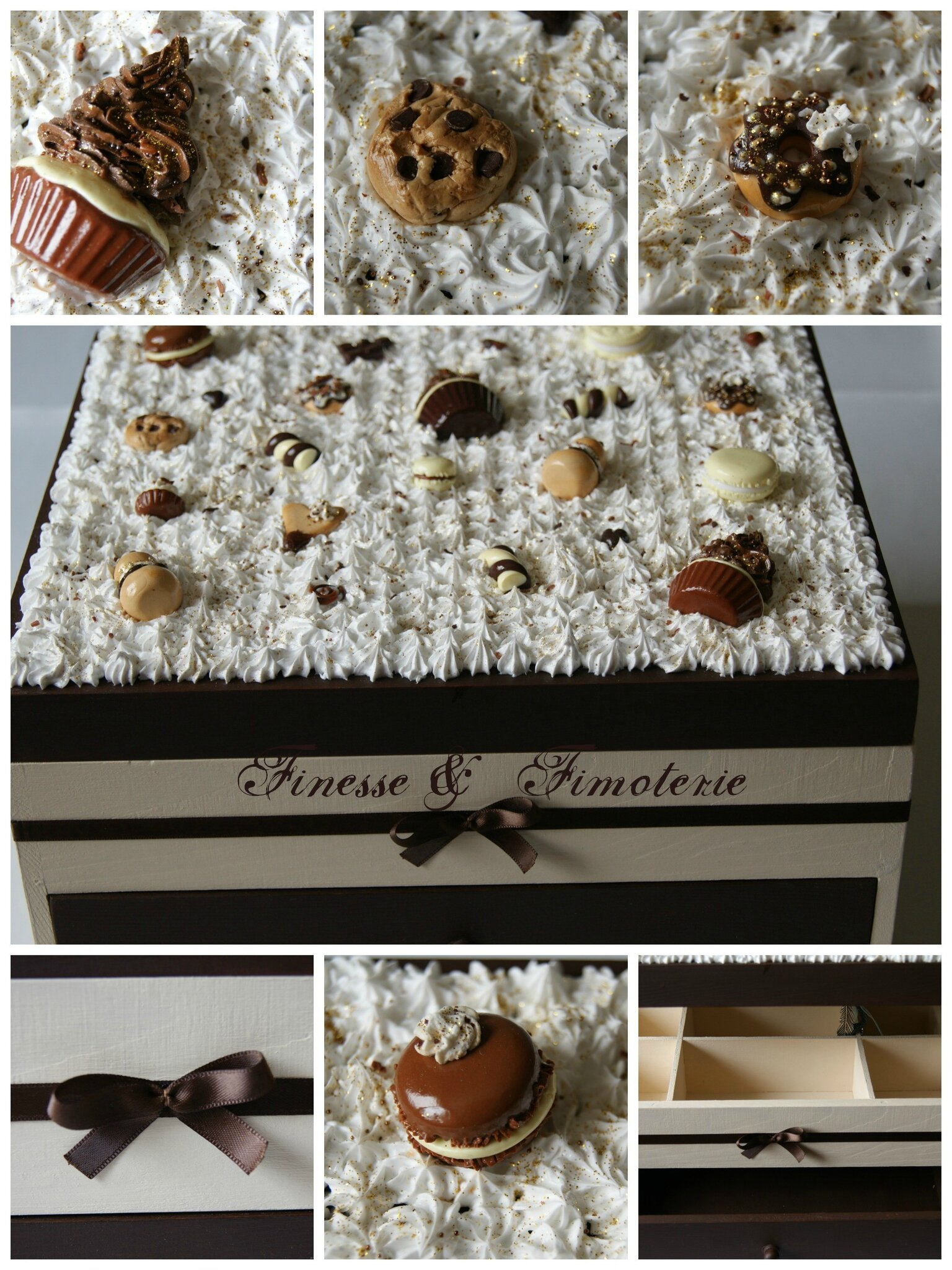 grosse boite gourmande thème chocolat