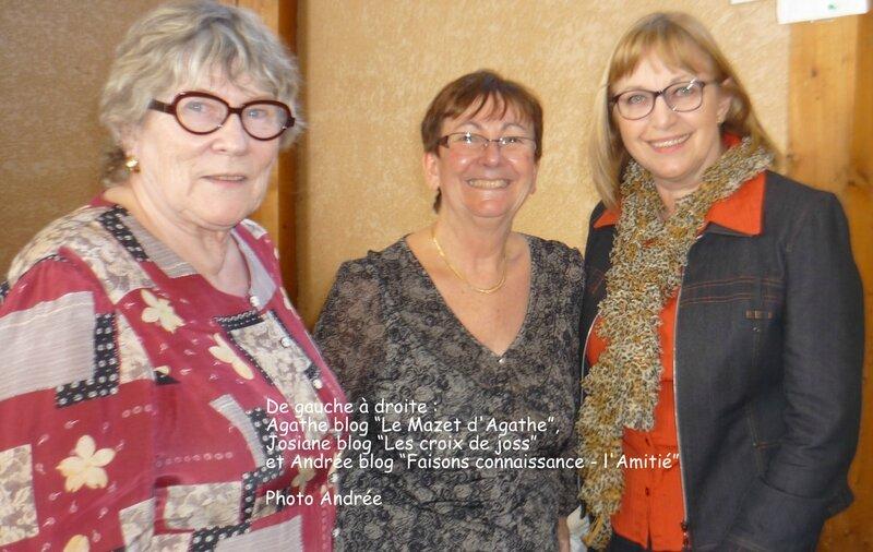 Agathe, Josiane et Andrée 2