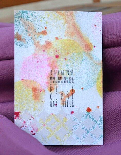 Carte anniversaire Roro 2 - Juin 2015