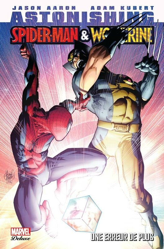 marvel deluxe astonishing spiderman & wolverine