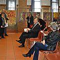 Remise des prix des Arts littéraires au chateau Catala à Saint-Orens Avril 2016