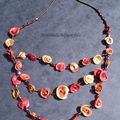 collier roses