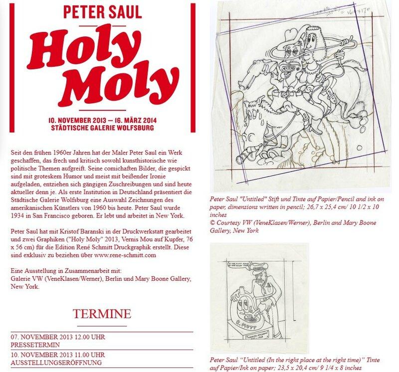 Saul Holy Moly
