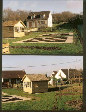 potager 1994 dalles et cabane