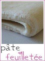 pâte feuilletée - index