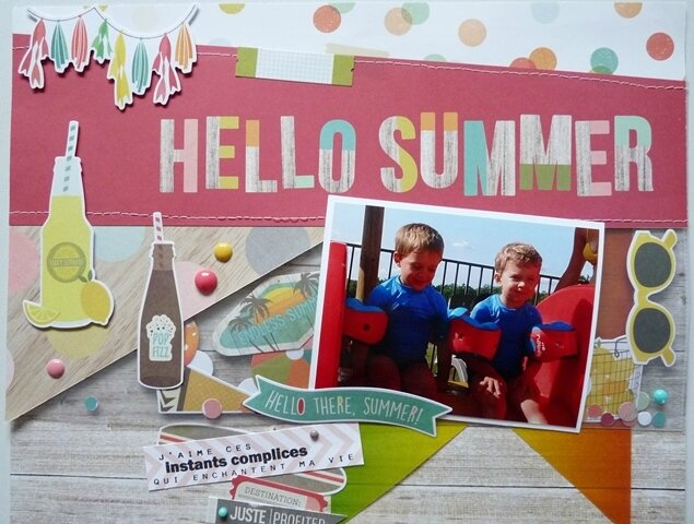 Page A&B Hello summer (2)