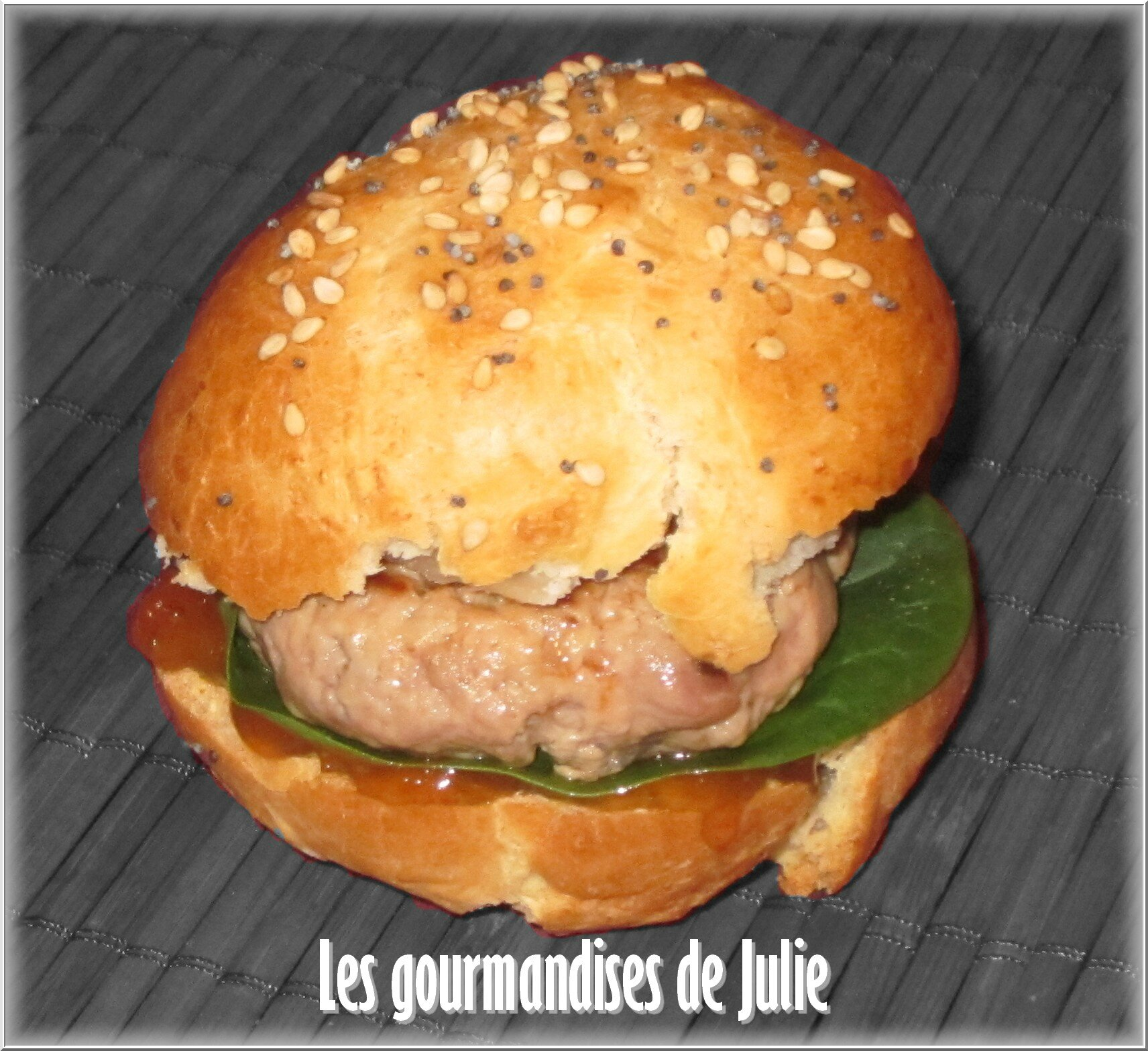 burger de canard les gourmandises de julie. Black Bedroom Furniture Sets. Home Design Ideas