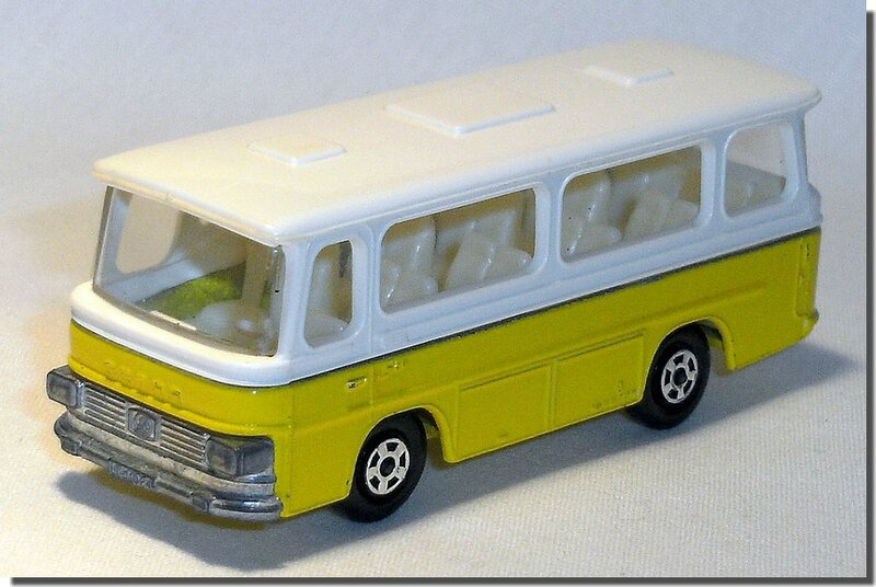 Lesney Matchbox 12 D Bus Setra coach A 1