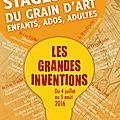 Stages d'été du grain d'art