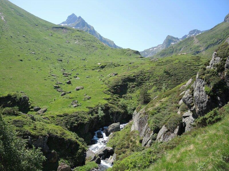 Gourette, D les Trois lacs, Plaa de Batch, gorges du Valentin (64)