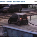 Une video sur la neige  Alfortville