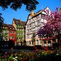 Après l'hiver, strasbourg reprend des couleurs.