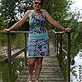 Couture : une petite robe d'été - béni soit le col bénitier
