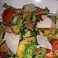 Salade solo crispy oignons