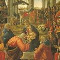 GHIRLANDAIO - Adoration des Mages (détail) - FLORENCE - Offices