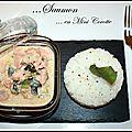 Mini cocotte de saumon