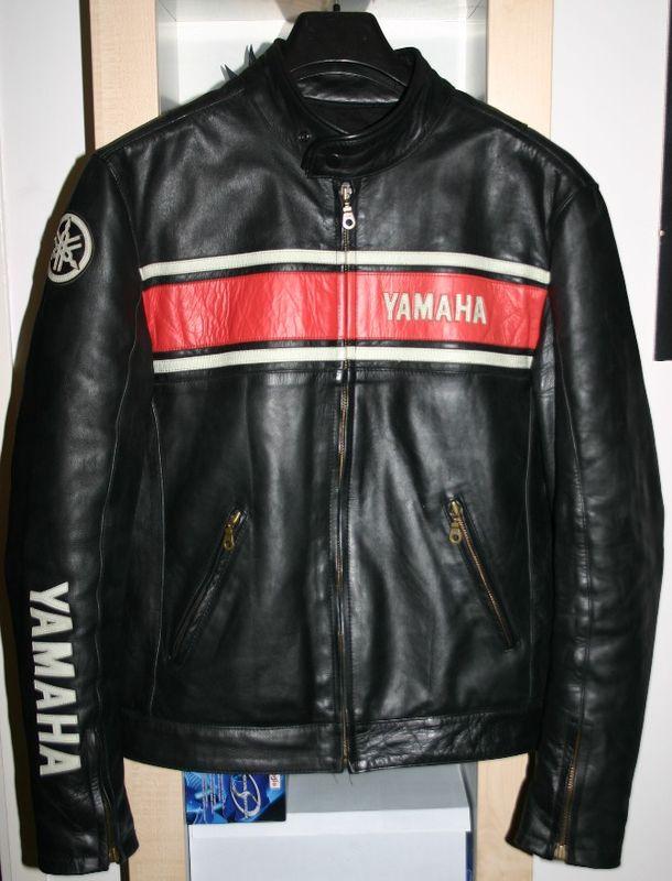 Blouson moto cuir femme yamaha