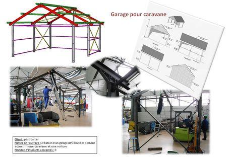 Th me 2010 garage caravane bts constructions m talliques du lyc e monge - Garage nicolas champ sur drac ...