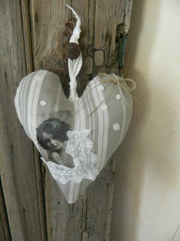 coeur toile matelas 003