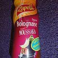Lasagnes à la bolognaise façon moussaka (zapetti)