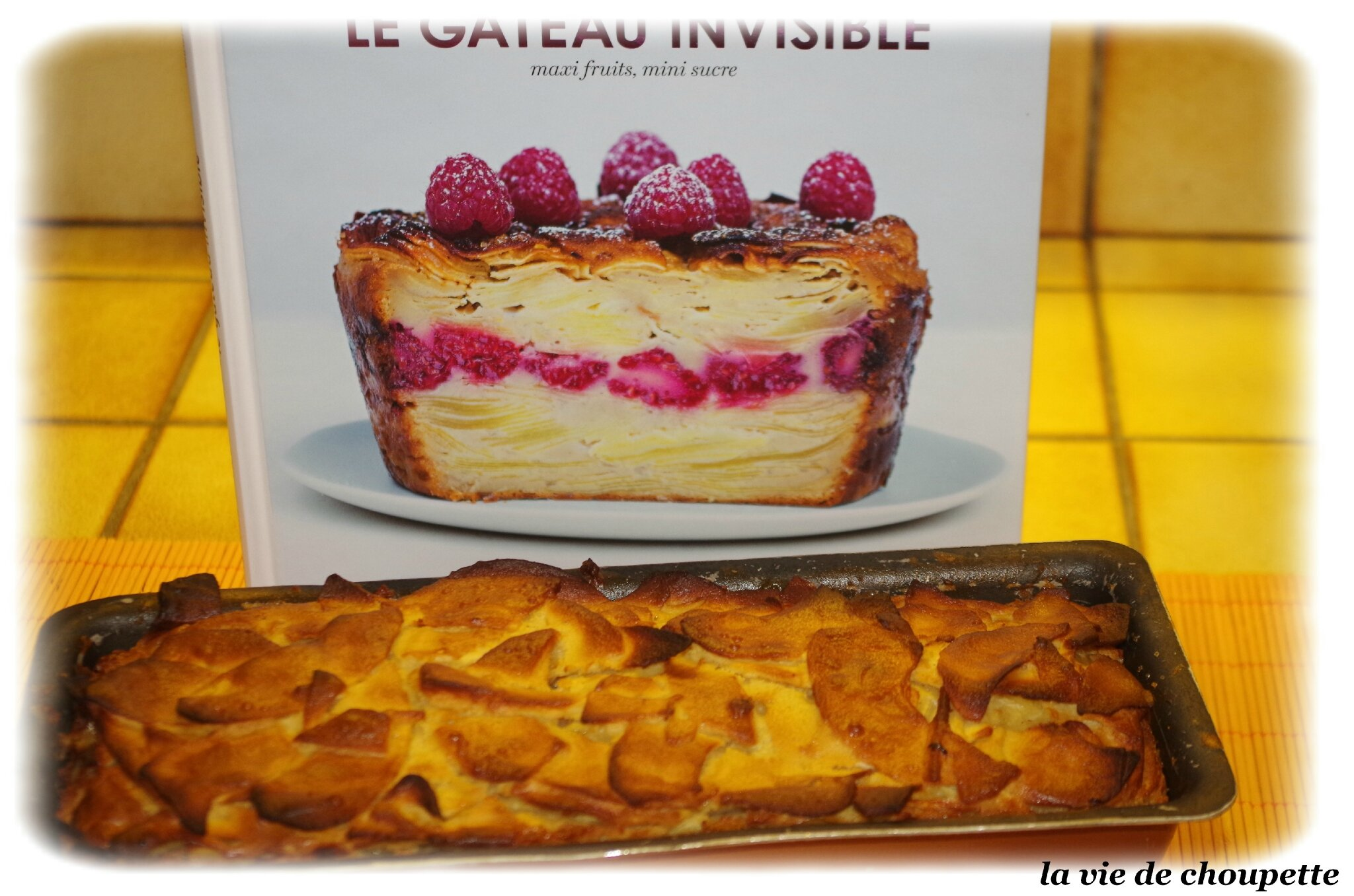 Gateau invisible aux pommes weight watcher