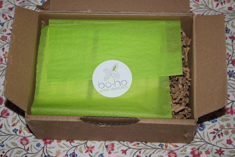 boho green revolution maquillage naturel bio fards à paupières édition limitée