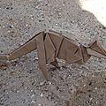 Origami Zoo - Kangourou