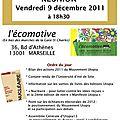 Réunion du 9 décembre 2011