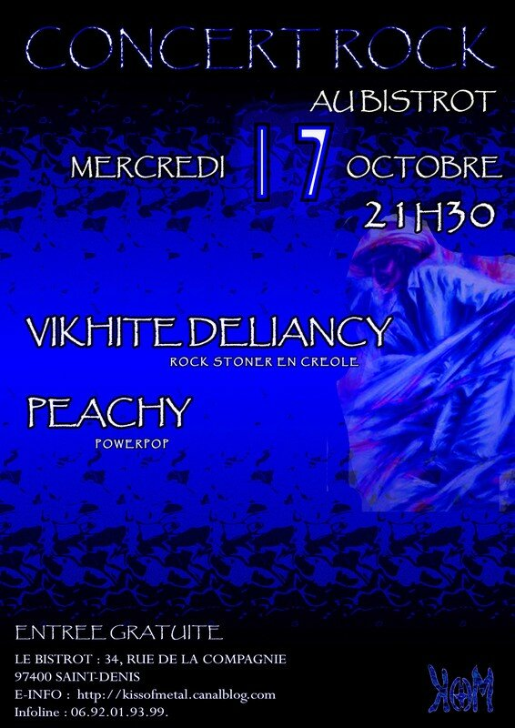 Concert Peachy & Vikhite deliancy