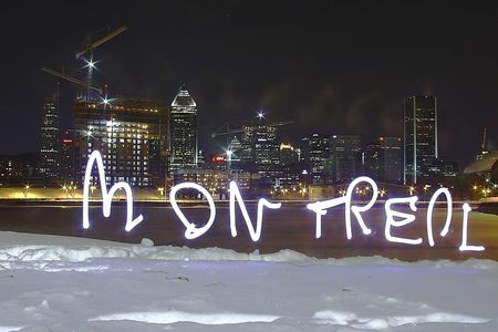 montreal light painting