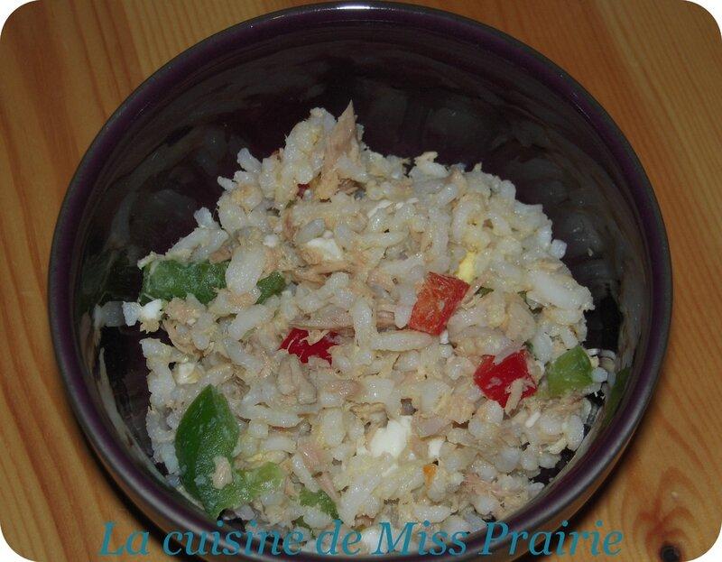 Salade thon-poivron