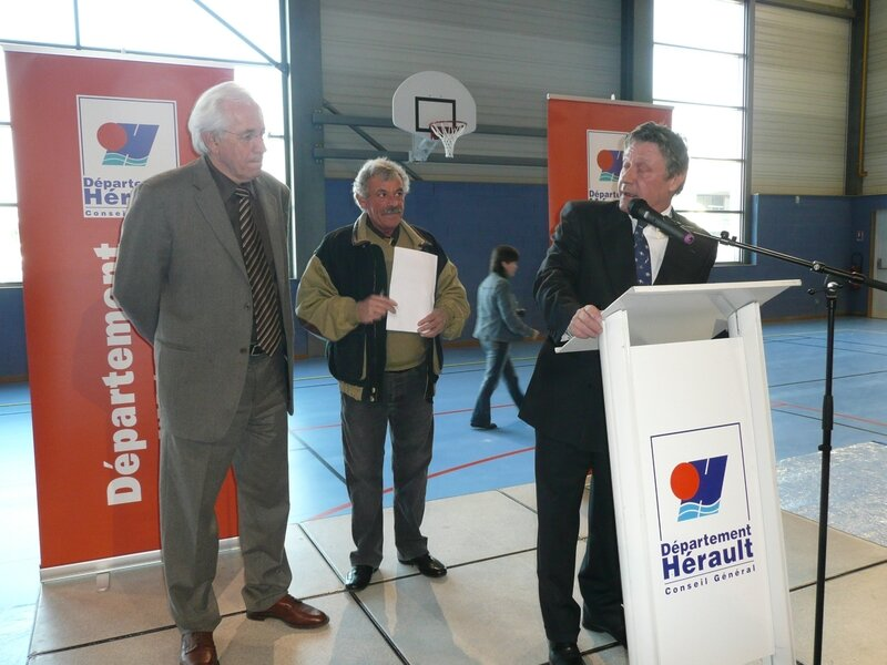 Inauguration halle aux sports 035