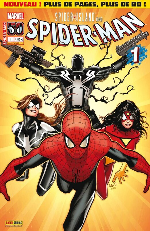 spiderman V3 01 cover 2