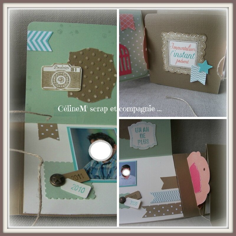 Mini album in colors détails