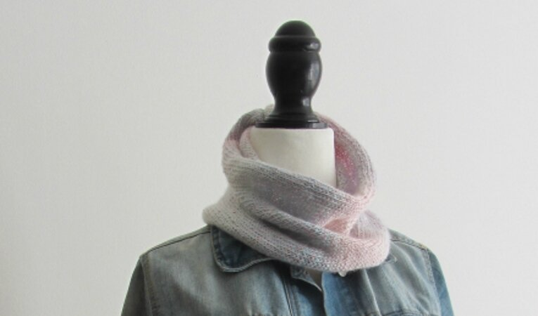 snood dégradé rose 4